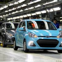 2013 Hyundai i10 enetrs production