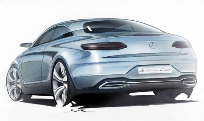 2013 Mercedes-Benz S-Class Coupe Concept - Leaked sketches