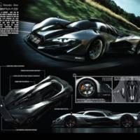 2013 Mercedes-Benz SL GTR - Design study