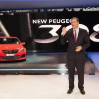 2013 Peugeot 308 R bows in Frankfurt
