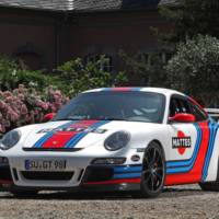 2013 Porsche 997 GT3 Martini modified by Cam Shaft