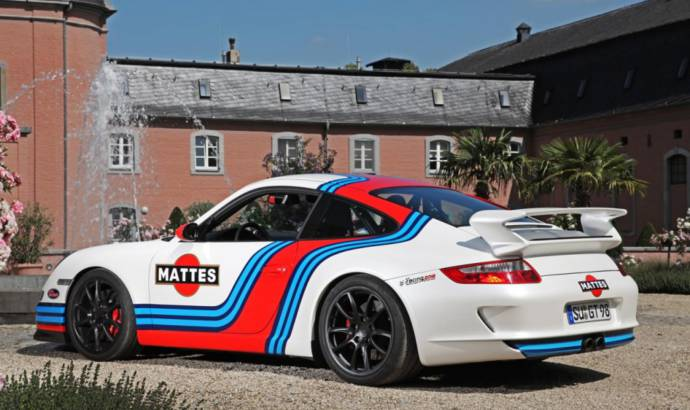 2013 Porsche 997 GT3 Martini modified by Cam Shaft