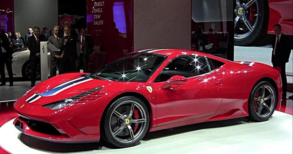 2014 Ferrari 458 Speciale revealed in Frankfurt