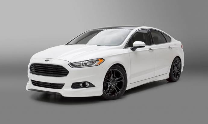 2014 Ford Fusion 3D Carbon bodykit