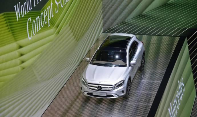 2014 Mercedes-Benz GLA has arrived in Frankfurt