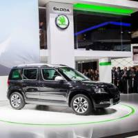2014 Skoda Yeti facelift unveiled in Frankfurt