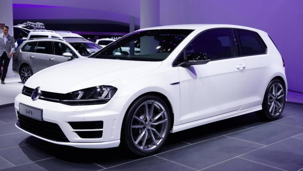2014 Volkswagen Golf R roars in Frankfurt