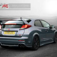 2015 Honda Civic Type R - First render images