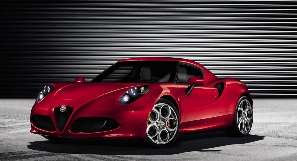 Alfa Romeo 4C video