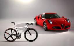 Alfa Romeo introduces the 4C IFD bicycle