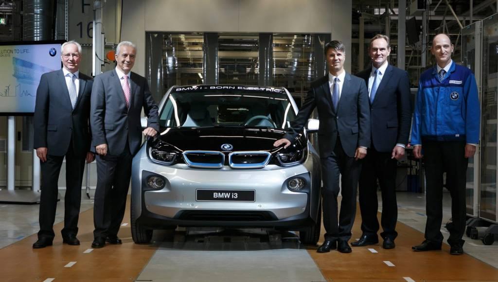 BMW i3 enters production