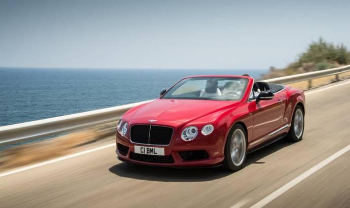 Bentley Continental GT V8 S ready for Frankfurt