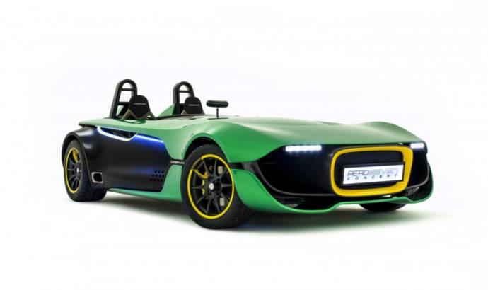 Caterham AeroSeven Concept unveiled