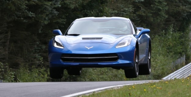 Chevrolet Corvette Stingray tackles the Nurburgring