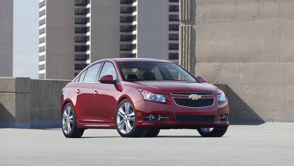 Chevrolet Cruze reaches three year anniversary