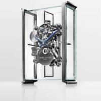 Erwin Sattler Audi clock table