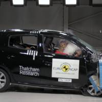 EuroNCAP rated 4 Stars the 2013 Mitsubishi Mirage