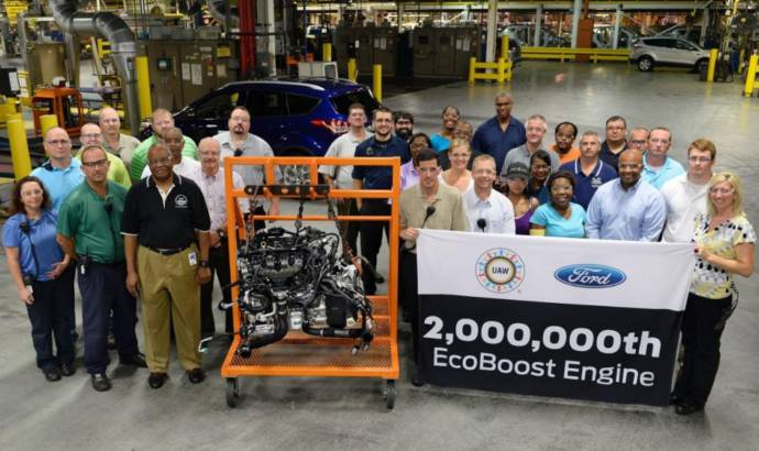Ford builds 2 millionth EcoBoost engines