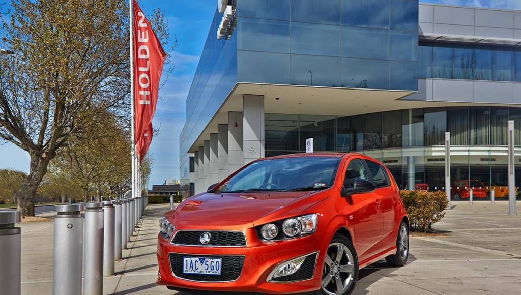 Holden Barina RS announced in Australia
