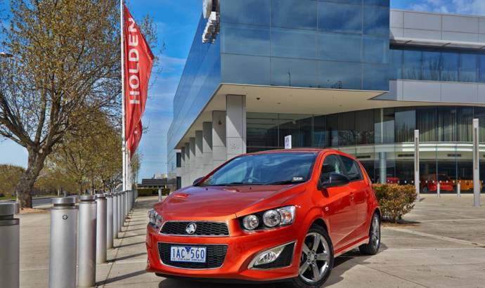 Holden Barina RS announced in Australia