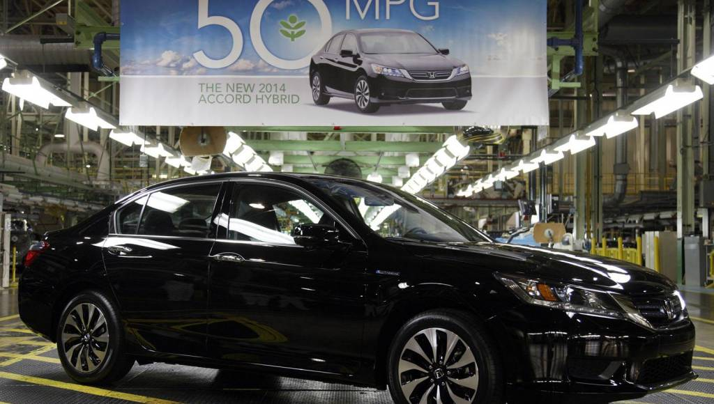 Honda Accord Hybrid enters production