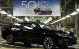 Honda Accord Hybrid enters production