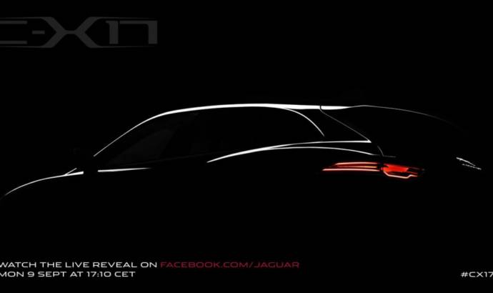 Jaguar C-X17 SUV teased ahead of IAA Frankfurt reveal