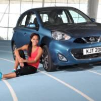Katarina Johnson-Thompson is Nissan Micra new face