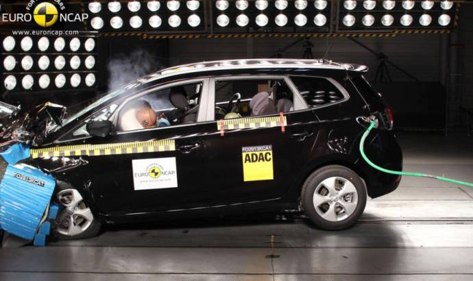 Kia Carens awarded 5 stars in EuroNCAP safety tests