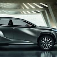 Lexus LF-NX Concept breaks cover