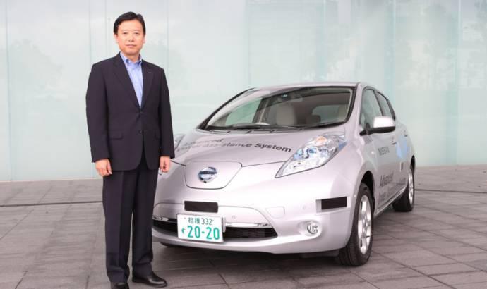 Nissan Leaf - semi-autonomous version certified for road use