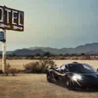 The 2013 McLaren P1 production version revealed in dynamic footage