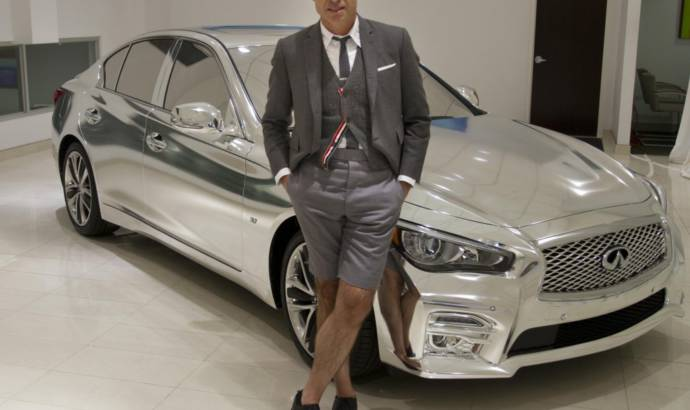 Thom Browne 2014 Infiniti Q50 launched in New York