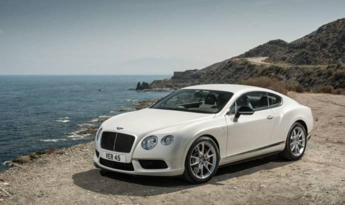 2013 Bentley Continental GT V8 S arrives in Frankfurt