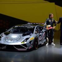 2013 Lamborghini Gallardo LP 570-4 Squadra Corse flex its muscles in Frankfurt