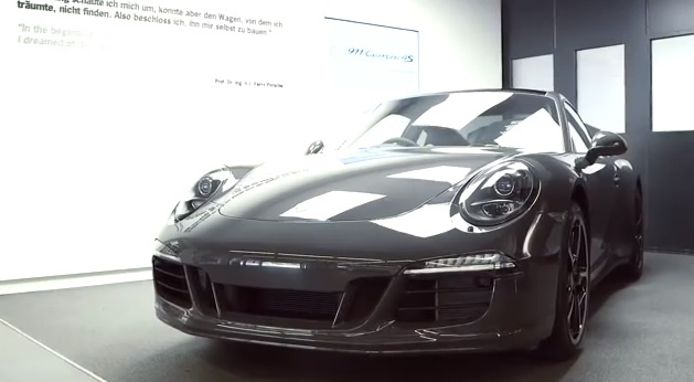 2013 Porsche 911 Carrera 4S Exclusive Edition - Only for the UK