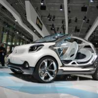 2013 Smart FourJoy Concept bows in Frankfurt