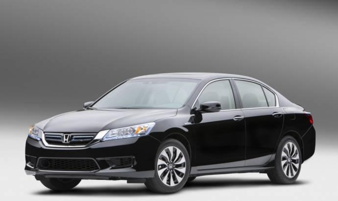 2014 Honda Accord Hybrid available from november