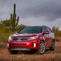 2014 Kia Sorento receives 5 stars in NHTSA tests