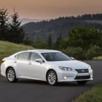 2014 Lexus ES300h Hybrid fuel economy