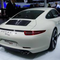 2014 Porsche 911 50 Years flex its muscles in Frankfurt