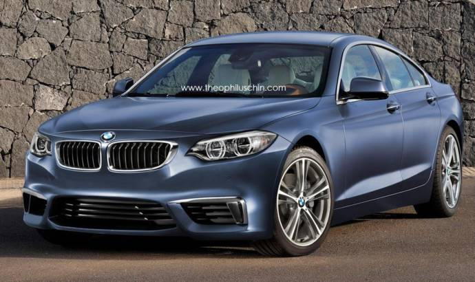 2015 BMW 2 Series Gran Coupe rendered by Theophilus Chin