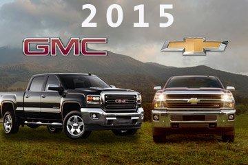 2015 Chevrolet Silverado HD and GMC Sierra HD pick-ups