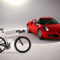 Alfa Romeo introduces the 4C IFD bicycle