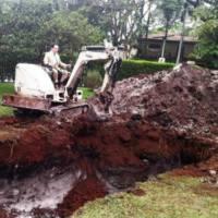 Brazilian millionaire buries his Bentley Flying Spur