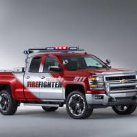 Chevrolet Silverado Black Ops and Volunteer Firefighter concepts