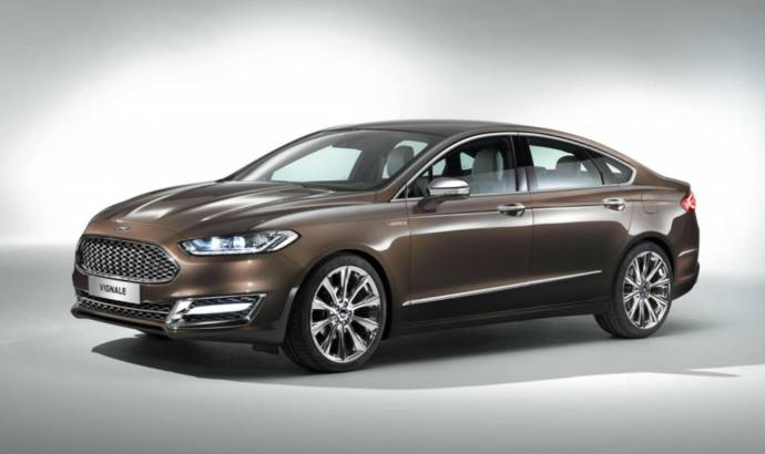 Ford Mondeo Vignale Concept gets official