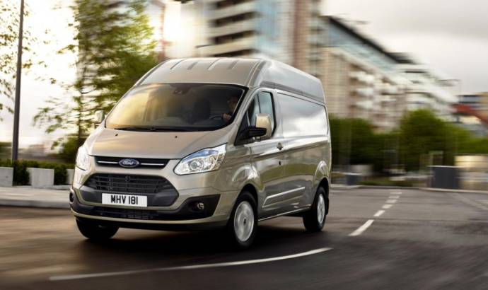 Ford Transit high-roof introduced in UK