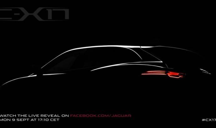 Jaguar C-X17 SUV teased ahead of IAA Frankfurt reveal