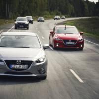 Mazda3 convoy arrives to Frankfurt after 9300 miles